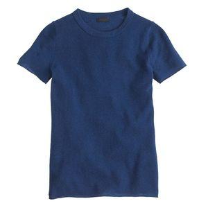 J.Crew Short-Sleeve Cashmere T-Shirt, Medium
